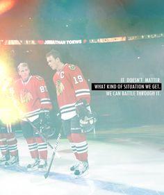 Chicago Blackhawks. Jonathan Toews, Patick Kane. Hockey.