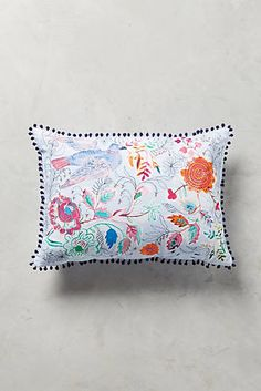 Rosaleda Pillow  Anthroplogie