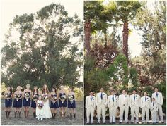 blue and burlap wedding | Weddings, not so much: . Navy and fuchsia are another color combo that ...