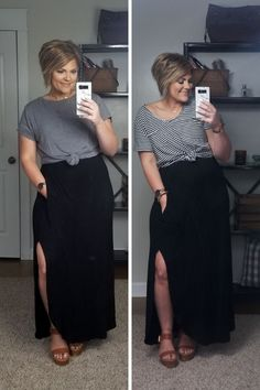 5 Ways To Style A Black Maxi Dress 5 Ways To Style A Black Maxi Dress Source by dress outfits summer Black Maxi Skirt Outfit, Maxi Skirt Outfits, Boho Dress, Dress Skirt, Dress Up, Maxi Dresses, Black Maxi Skirts, Summer Maxi Dress Outfit, Casual Black Dress Outfit