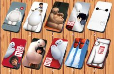 Big Hero 6 Baymax For Faux Leather Flip iPhone & Samsung Galaxy Case Cover #NONGCHAO