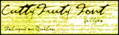 CuttyFruty Font | dafont.com either this or natanial for my tattoo