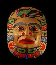 Tony Hunt Jr. ( Kwakwaka'wakw )  - Moon Mask