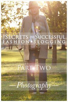 Secrets to successful fashion blogging! Photography! Via PrettyShinySparkly