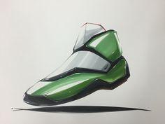 Shoes marker rendering