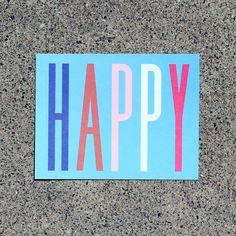 Happy Notecard Pack