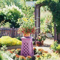 Kleiner Garten - Ideen für optische Vergrößerung - #Gartengestaltung