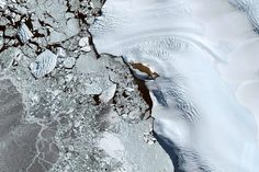 Antartica - Earth View is a collection of the most beautiful and striking landscapes found in Google Earth.