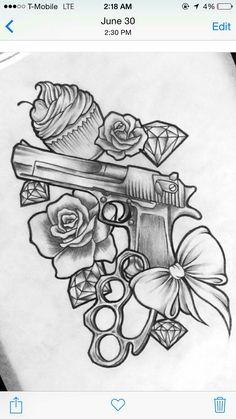 - No cupcake skull add – paint ❤ – … – paint -No cupcake add skull - paint ❤ - . - No cupcake skull add – paint ❤ – … – paint - Body Art Tattoos, Gangsta Tattoos, Tattoos, Girly Tattoos, Cute Tattoos, Tattoo Drawings, Skull Painting, Tattoo Stencils, Tattoo Designs