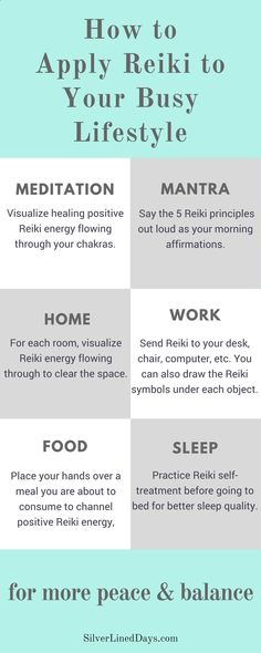Busy lifestyle? Apply simple and effective Reiki self-healing techniques throughout your day for more peace balance! reiki healing | reiki energy | chakras | metaphysical | alternative medicine