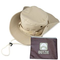 f1f5e9507d1 Wide Brim Packable Booney Sun Hat Max Protection for UVA Lightweight Cotton  Perfect for Fishing Gardening Hiking Camping The Beach and All Outdoor  Activity ...
