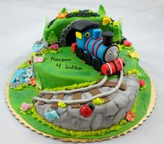 locomotive tomek - Cake by EvelynsCake