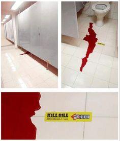42 Kickass ambiente Publicidad Ejemplos para 2014 Guerrilla Marketing de fotos