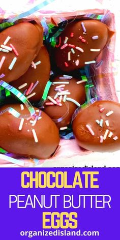 Homemade Peanut Butter Eggs Recipe -Full tutorial on Homemade Peanut Butter Eggs. This peanut butter chocolate dipped candy is fun to make in the shape of eggs for Easter! Easy Easter Desserts, Easter Dishes, Easter Recipes, Egg Recipes, Dessert Recipes, Easter Food, Easter Decor, Summer Recipes, Holiday Recipes