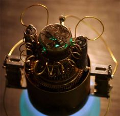 The Steampunk Time Machine is for the Elite #steampunk #victorian trendhunter.com