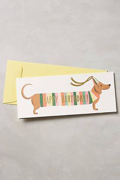 Shop Rifle Paper Co. at Anthropologie. Find your favorite floral printed cards, planners, phone cases & more by Rifle Paper Co. at Anthropologie. Zine, Book Stationery, Stationary, Dachshund Gifts, Unique Cards, Unique Gifts, Dog Birthday, Birthday Gifts, Rifle Paper Co