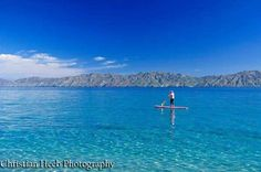 Let's #SUP #boarding in #LaVentanaBCS! Beautiful #crystalwater. #BajaCaliforniaSur #VisitBajaSur #LaPazBCS #IslaCerralvo #jaquescousteau #JaquescousteauIsland #SeaOfCortez #MardeCortés