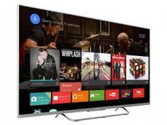 Smart TV LED 3D 55 Sony KDL-55W805C Full HD - Conversor Integrado 4 HDMI 2 USB 1 Óculos 3D