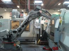 Robots At Work by Haas Automation, Inc., via Flickr