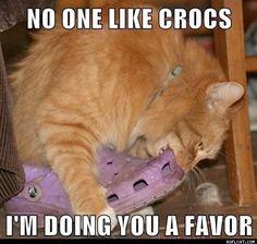 But I like crocs;-)