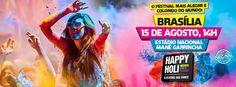 Happy Holi O Festival das Cores em Brasilia