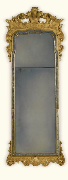 A pair of George I carved giltwood and gesso pier mirrors circa 1720, in the manner of John Belchier | Lot | Sotheby's