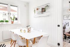 EO9 House Tours, Office Desk, Dining, Furniture, Home Decor, Interior, Home Decoration, Blue, Restaurant