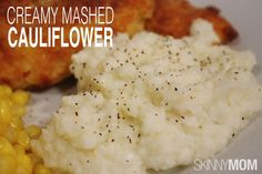 Skinny Creamy Mashed Cauliflower | Skinny Mom | Tips for Moms | Fitness | Food | Fashion | Family