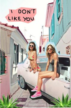 On the Road – With music festivals such as Coachella coming up, Urban Outfitters offers a selection of road trip style with a new style book starring Rachel… Urban Outfitters, Pool Bar, Steam Punk, Summer Of Love, Summer Time, Summer Days, Spring Break, Summer Fun, Pink Summer