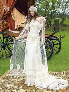 hippie vintage wedding dresses