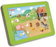 tablette d'animaux