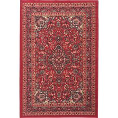 Found it at Wayfair - Ottohome Red Area Rug