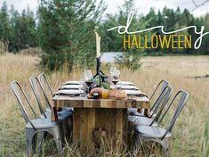 Ideas para una mesa de Halloween elegante