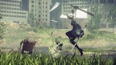 """Nier Automata: """"That really crass, really odd, weird shit you expect is still there"""""""