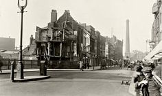 Looking North on Norton Folgate towards Shoreditch High Street by CA Matthews