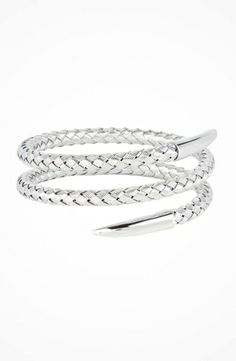 Roberto Coin Snake Bangle #accessories  #jewelry  #bracelets  https://www.heeyy.com/roberto-coin-snake-bangle-silver/