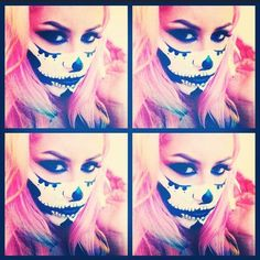 Half sugar skull | makeup by chrisspy