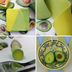 avocado miniature tutorial by Shay Aaron