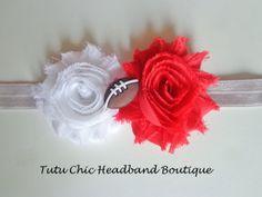 Ohio State Headband: baby headbands, newborn headband, football headbands, infant headband, toddler headband, childrens headband