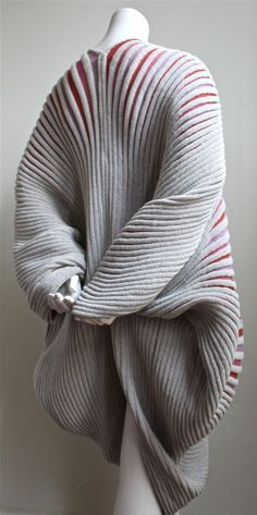 the study of fabric, flexibility, made to be comfortable, and a work of usable art