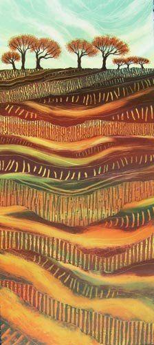 New Tree Artwork Design Canvases Ideas Landscape Quilts, Abstract Landscape, Landscape Paintings, Tree Artwork, Tree Canvas, Zen Art, Naive Art, Contemporary Landscape, Artwork Design