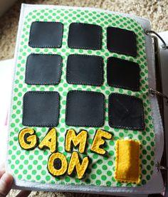 tic-tac-toe, chalkboard fabric   quiet book