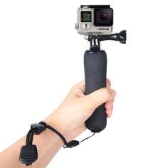 [$3.09] Bobber Floating Handle Grip with Adjustable Anti-lost Strap for GoPro HERO4 /3+ /3 /2 /1(Black)