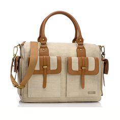 Love a diaper bag that's both practical and stylish!