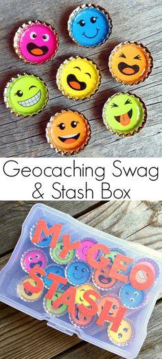 Geocaching Swag - Happy-Go-Lucky