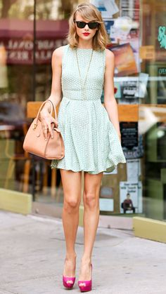 44 Reasons Why Taylor Swift Is a Street Style Pro - July 22, 2014 from #InStyle