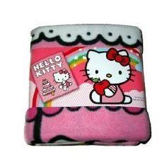 Sanrio Hello Kitty Birthday Cake Plush Throw Pink Large Fleece Bed Blanket #Hello Kitty #Hello Kitty Birthday Cake  www.empowernetwork.com/almostasecret.php?id=ethan1