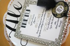Great Gatsby Party Roaring Twenties party gold by worldwideparty, $29.00