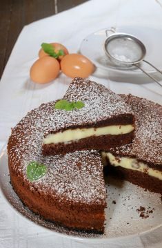 Burritos, Torte Cake, Biscotti, Nutella, Great Desserts, Chocolate Cake, Cake Recipes, Food And Drink, Sweets