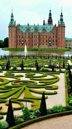 Frederiksberg Castle in Hillerod